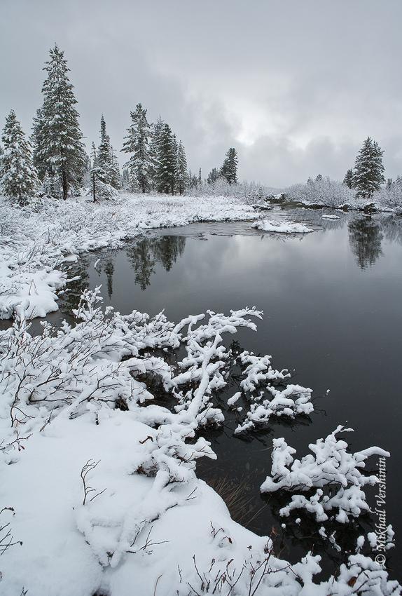 Ергаки Первый снег
